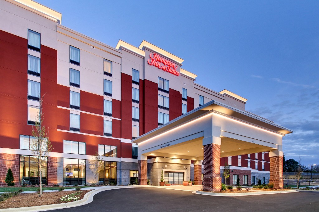 Hampton Inn & Suites Greenville Airport located at 128 The Parkway